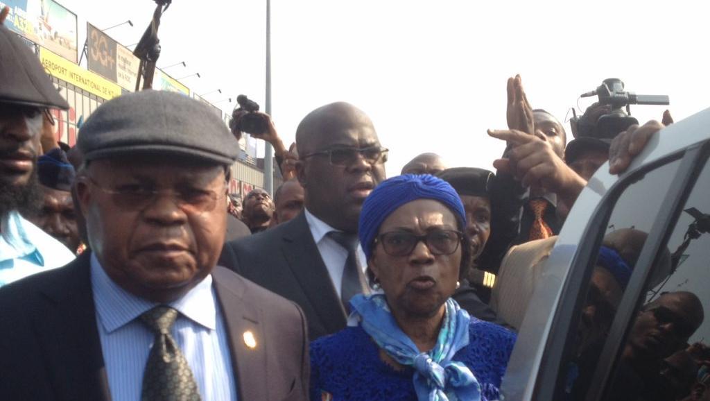 Felix Tshiskedi, Etienne Tshisekedi et sa femme