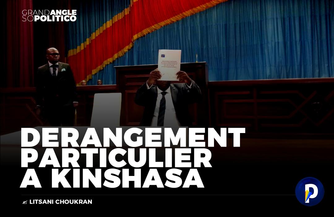 Dérangement particulier à Kinshasa