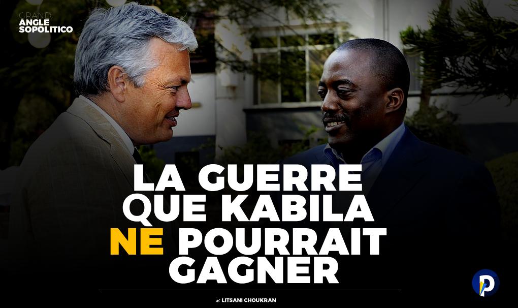 Contre la Belgique: la guerre que Kabila ne pourrait gagner