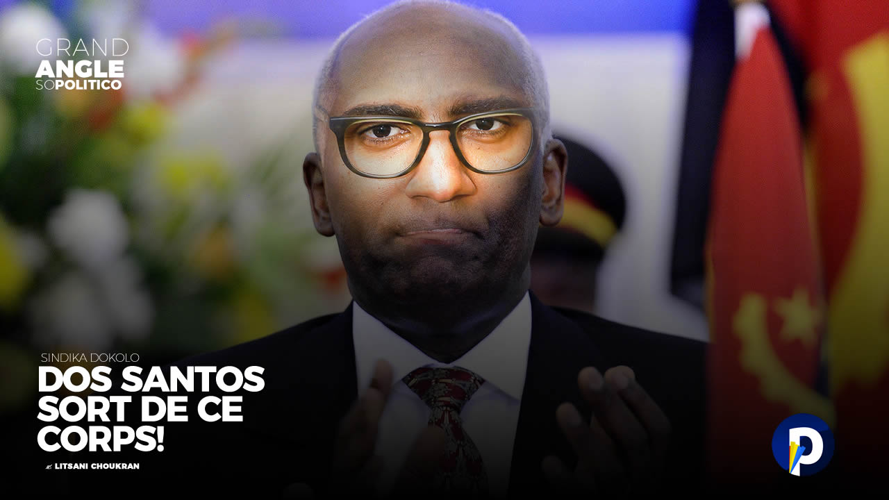 Sindika Dokolo: Dos Santos, sort de ce corps!